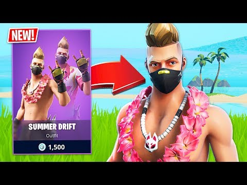 New Summer Drift  Skin! (Fortnite Battle Royale) - UC2wKfjlioOCLP4xQMOWNcgg