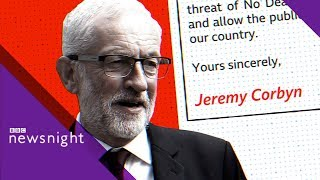 Jeremy Corbyn's plan to defeat a no-deal Brexit - BBC Newsnight