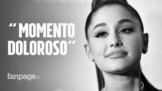Il significato delle lacrime di Ariana Grande durante il suo Sweetener Tour: