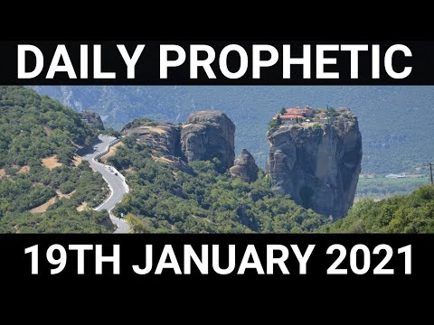 Daily Prophetic Word 19 January 2021 5 of 7