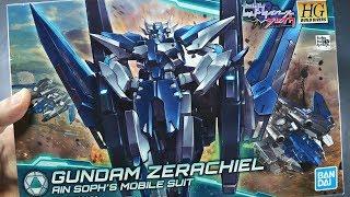 1913 - HG Gundam Zerachiel UNBOXING