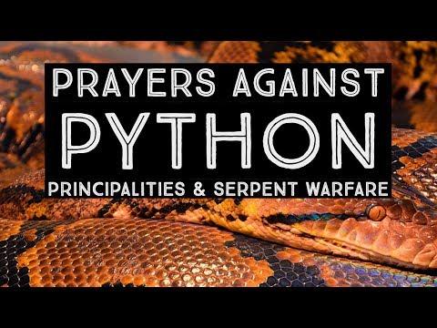 Prayers Against Python Principalities & Serpent Warfare  Jennifer LeClaire Breaks Python Witchcraft