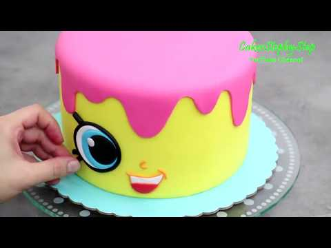 How To Make a CUTE Birthday Cake | Easy Cake Decorating Idea for Birthday - UCjA7GKp_yxbtw896DCpLHmQ