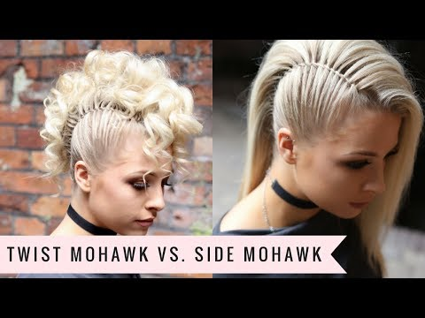 Edgy Faux Side Shave Fake It Hair Tutorial Audiomania