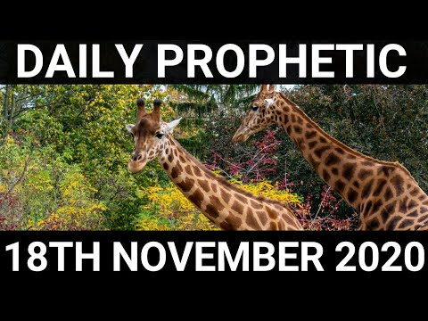 Daily Prophetic 18 November 2020 10 of 12