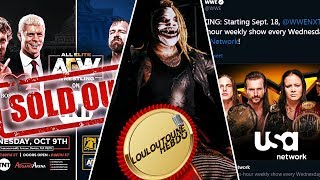 [LoulouTouneHEBDO #29] KOTR | AEW SOLD OUT | NXT on USA Network | L'assassin [Fr]