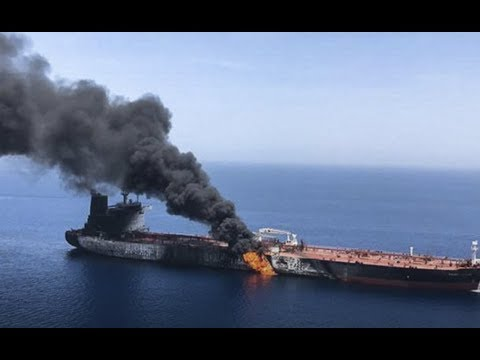 Breaking 2 Tankers Ships Attacked At Strait Of Hormuz 44 Rescued Iran-US Tensions Rise