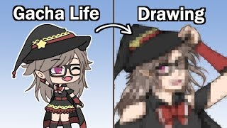 Drawing Your Gacha Life Characters! | Speedpaint + Commentary