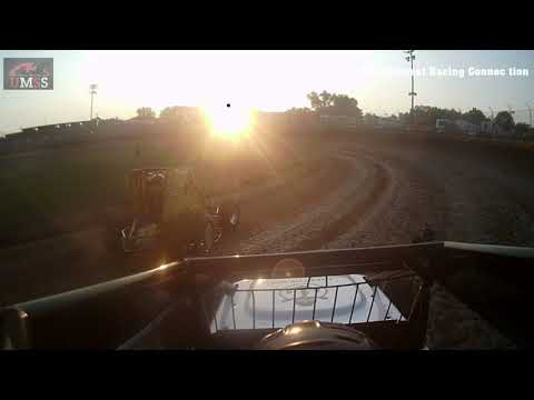 Brad Peterson UMSS Traditional GoPro - Cedar Lake Speedway 07/02/2021 - dirt track racing video image