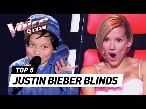 BEST JUSTIN BIEBER BLIND AUDITIONS IN THE VOICE KIDS - UCJYtYkiGldqX6Ne938j-k2g