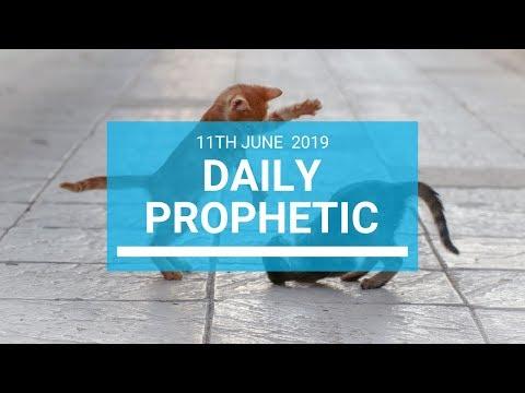 Daily Prophetic 11 June 2019   Word 1