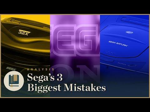 SEGA's 3 Biggest Mistakes | Gaming Historian - UCnbvPS_rXp4PC21PG2k1UVg