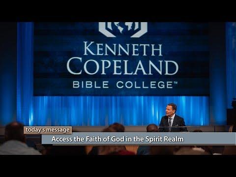 Access the Faith of God in the Spirit Realm