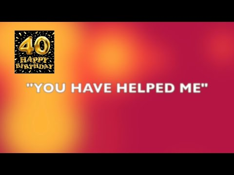 YOU HAVE HELPED ME - SPECIAL SONG BY DAUGHTERS OF DESTINY PUBLICATIONS MEMBERS FOR EVANG. TOYIN@40.