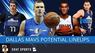 Dallas Mavericks: Top Five Lineups For The Mavs In 2019-20 Feat. Luka Doncic & Kristaps Porzingis