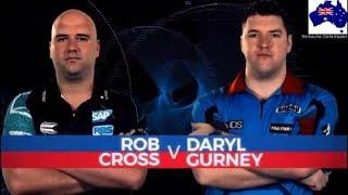 2019 Melbourne Darts Masters Semi Final  Cross vs Gurney