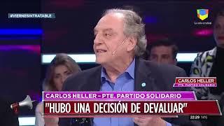 Carlos Heller en Intratables (16/08/19)