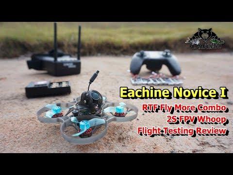 Eachine Novice I 75mm 2S Whoop FPV Racing Drone RTF Flight Testing Review - UCsFctXdFnbeoKpLefdEloEQ