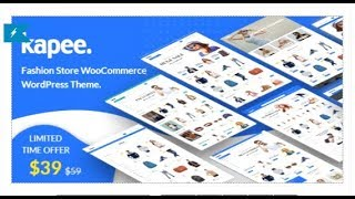 Kapee - Fashion Store WooCommerce Theme | Themeforest Templates