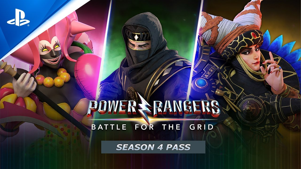 Power Rangers: Battle For The Grid – Season 4 Pass Launch Trailer | PS4