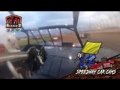 #23 Layne Clifton - Topless Late Model - Carolina Sizzler 7-18-21 - In-Car Camera - dirt track racing video image