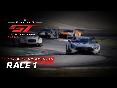 RACE 1 - COTA - Blancpain GT World Challenge America - LIVE - UC-yHapH6mW1ceZ_5PDUf1_g
