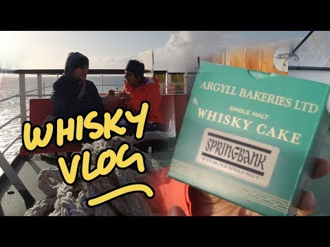 Springbank whisky cake on a ferry - Campbeltown whisky Vlog - UC8SRb1OrmX2xhb6eEBASHjg