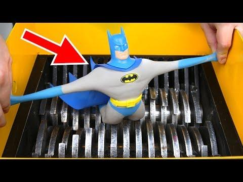 SHREDDING STRETCH BATMAN TOY! AMAZING VIDEO! - UCL3Cq-M4RE8M_7IbVjt5fcg