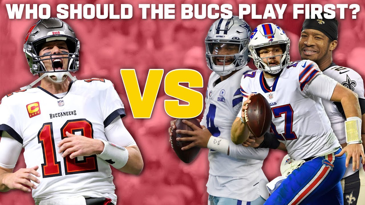 Who should the Bucs Play First in 2021?