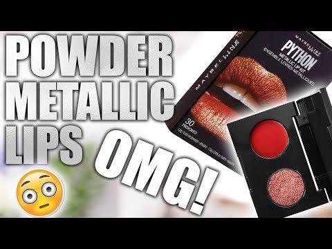 MAYBELLINE POWDER METALLIC LIPS ... OMG!!! - UC4qk9TtGhBKCkoWz5qGJcGg