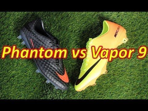 Nike HyperVenom Phantom VS Nike Mercurial Vapor 9 - Comparison Review - UCUU3lMXc6iDrQw4eZen8COQ