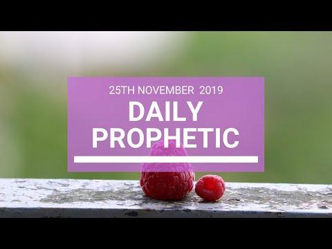 Daily Prophetic 25 November Word 4