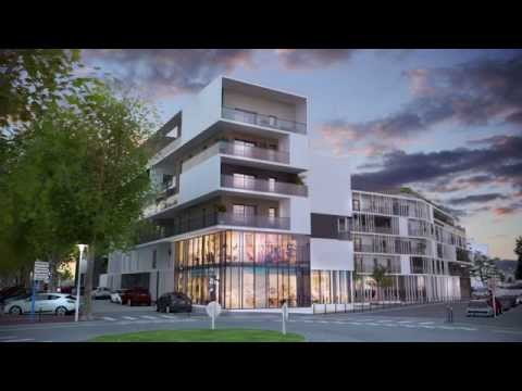 Video presentation of the real estate program in Lorient offering spaces for apartments and business