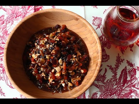 How to make mincemeat recipe video