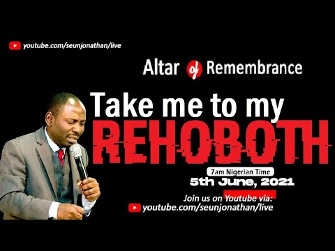 Altar of Remembrance -  MY REHOBOTH  -- Episode 27