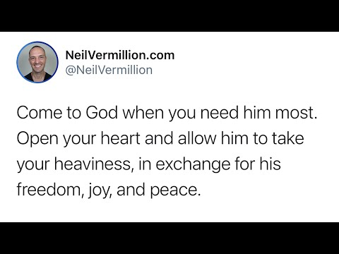 My Freedom, Joy, And Peace - Daily Prophetic Word
