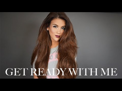 Get Ready With Me: Makeup + Hair - UCz0Qnv6KczUe3NH1wnpmqhA