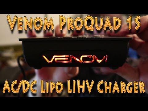 Review: Venom Pro Quad Micro 1S AC/DC LiPo/LiHV Charger!!! (02.17.2018) - UC18kdQSMwpr81ZYR-QRNiDg