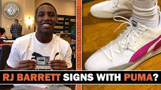RJ Barrett Signs with PUMA Basketball ?
