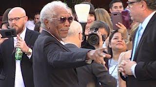 Morgan Freeman, Gerard Butler, Jada Pinkett Smith And More Attend 'Angel Has Fallen' Premiere