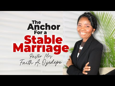 The Anchor for a Stable Marriage