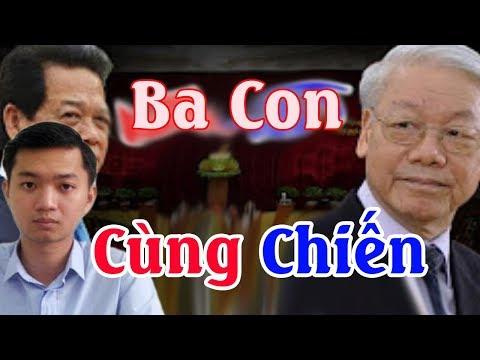 Cựu TT Nguyễn Tấn Dũng đưa con trai Nguyễn Minh Triết lên đối phó với Nguyễn Phú Trọng