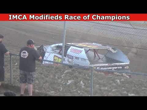 Grays Harbor Raceway, July 23, 2021, IMCA Modifieds Race of Champions - dirt track racing video image