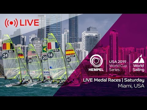 LIVE | Medal Races | Hempel World Cup Series Miami 2019 | Saturday 2 February