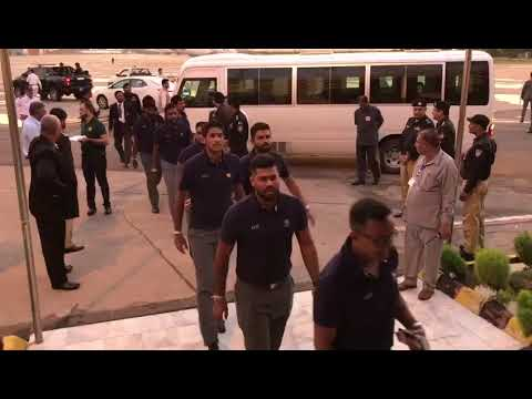 Warm Welcome And A Presidential Level Security Greeted Sri Lankan Cricket Team In Karachi