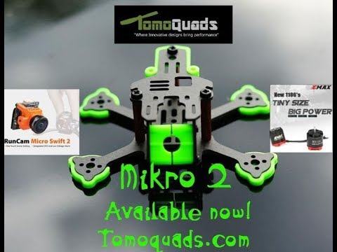 Babyhawk upgrade to Tomoquad's Mikro 2 frame (Tomoquad's Mikro 2 build video) - UC0FPoAi5HYMdm23RduuKcdQ