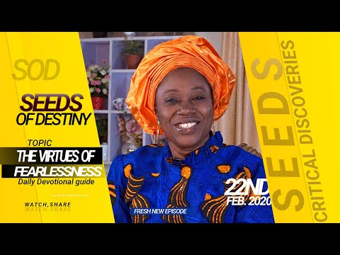 Dr Becky Paul-Enenche - SEEDS OF DESTINY - SATURDAY 22ND FEBRUARY, 2020