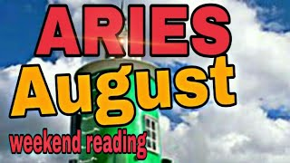 ♈ Aries August2019 MOVEMENT ACTION MESSAGES an OFFER BREAKTHROUGH in CLARITY Tarot Reading