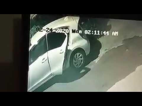 Car LCD Panel Stolen At Gulistan e Johar Block 14