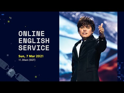 Joseph Prince at New Creation Church  11.30am SGT
